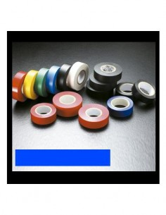 04-5032 Cinta Aislante 25X0.15mm Azul Ignifuga 25mtrs