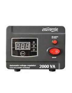 ENERGENIE Regulador y Estabilizador Autom. AC 2000Va