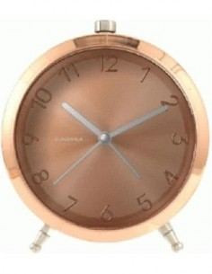CLOUDNOLA Reloj Con Alarma Glam Cobre SKU0054
