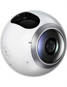 SAMSUNG Camara Gear 360 SM-C200 Giratoria 360º Bluetooth,Wifi,Para S6,S6 Edge,S6 Edge+,Note 5,S7,S7
