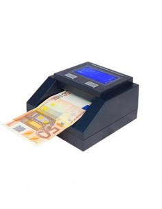 MUSTEK Detector de Billetes Falsos D8 EUR, CHF, GBP, ZLN 5W