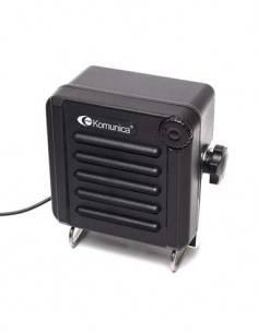 KOMUNICA Altavoz Externo PWR-SB1 Para Emisora de Bas Regulador de Volumen,IP68 3-5W Cable Jack 3.5mm