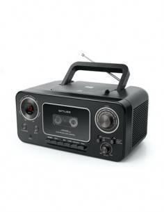 MUSE M182RDC Reproductor CD, Radio, Cassete, Grabador Portatil