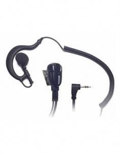 JETFON Micro Auricular Motorola Talk About 1 Clavija JR-1708E/C soporte oreja y cable negro todo.