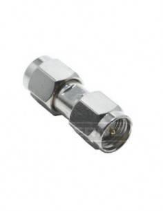Adaptador SMA doble pin macho