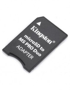 Adaptador Micro SD a MS PRO DUO Antiguo Grande