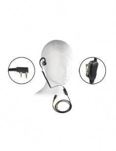 JETFON PRO Micro Auricular PRO-K2-E/C para Kenwood/Dynascan