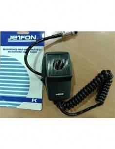 JETFON Micro Altavoz Para Emisora CB/27 4 pines DMC-508