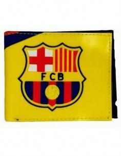 BIOWORLD Cartera Diseño Escudo Barça FCB LFP